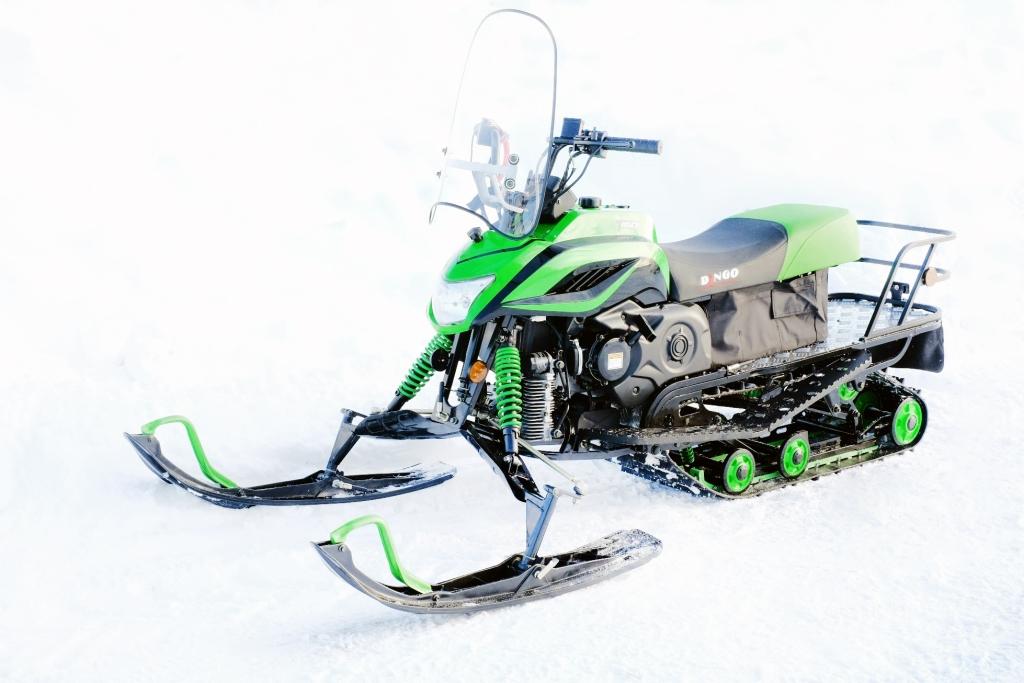 схема зажигания снегохода динго т-110